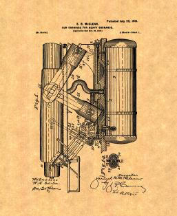 Gun-carriage for Heavy Ordnance Patent Print