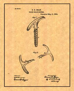 Police Chain Nippers Patent Print