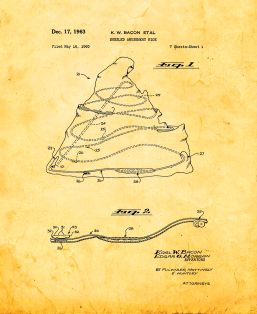Bobsled Amusement Ride Patent Print