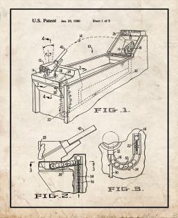 Ball Launcher With Finger Spin Loading Patent Print