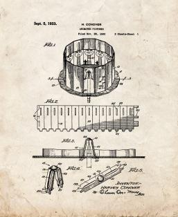 Animated Pictures Patent Print
