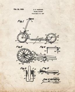 Propel Scooter Patent Print