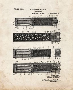 Flare Signal Patent Print