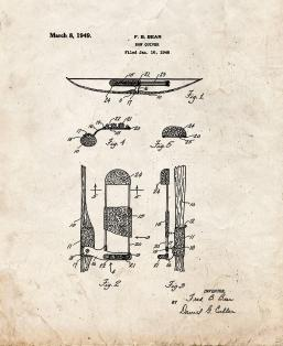 Bow Quiver Patent Print