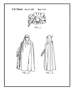 Star Wars Emperor's Royal Guard Patent Print