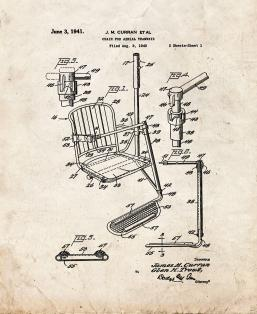 Chair for Aerial Tramways Patent Print
