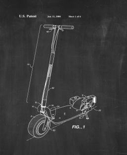 All Terrain Scooter Patent Print