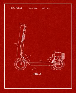 Engine Drive For Scooter Patent Print