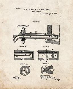 Colt 1911 Gun Patent Print Poster Item 10086 Frame A Patent