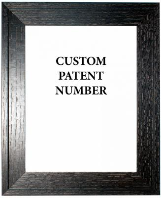 Framed Customer Patent Print