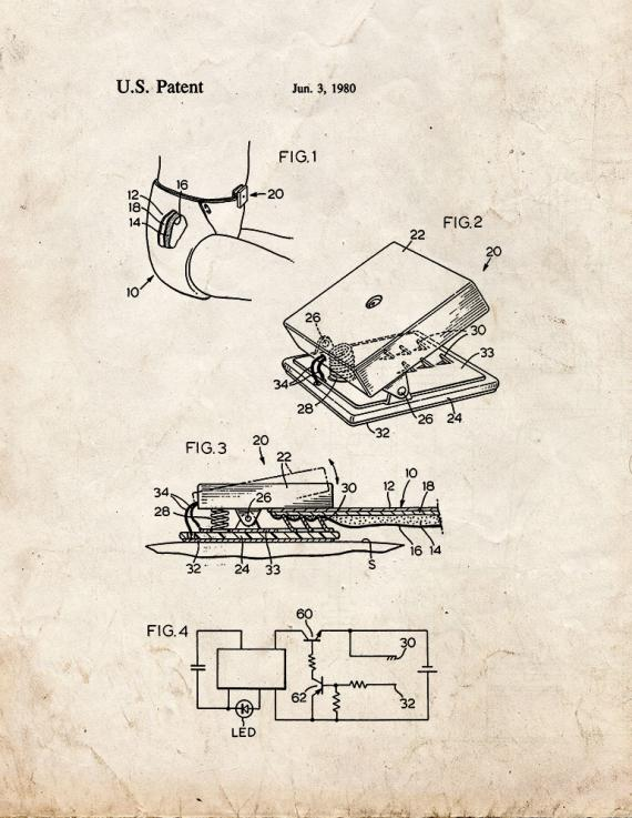 Conductivity Sensing Device For Diapers Patent Print