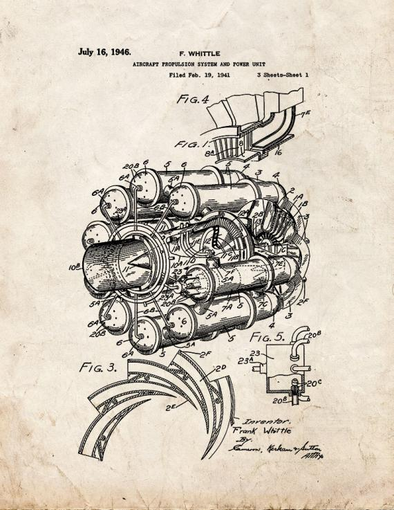 Aircraft Propulsion System And Power Unit Patent Print