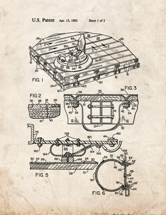 Bumper Car Amusement Ride Patent Print